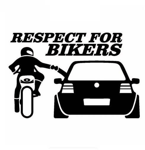 Respect For Bikers - Černá