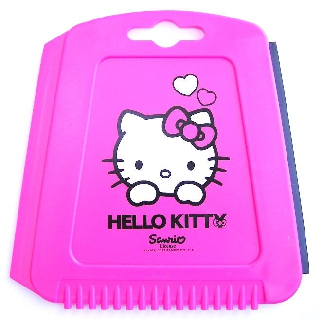 Růžová škrabka Hello Kitty