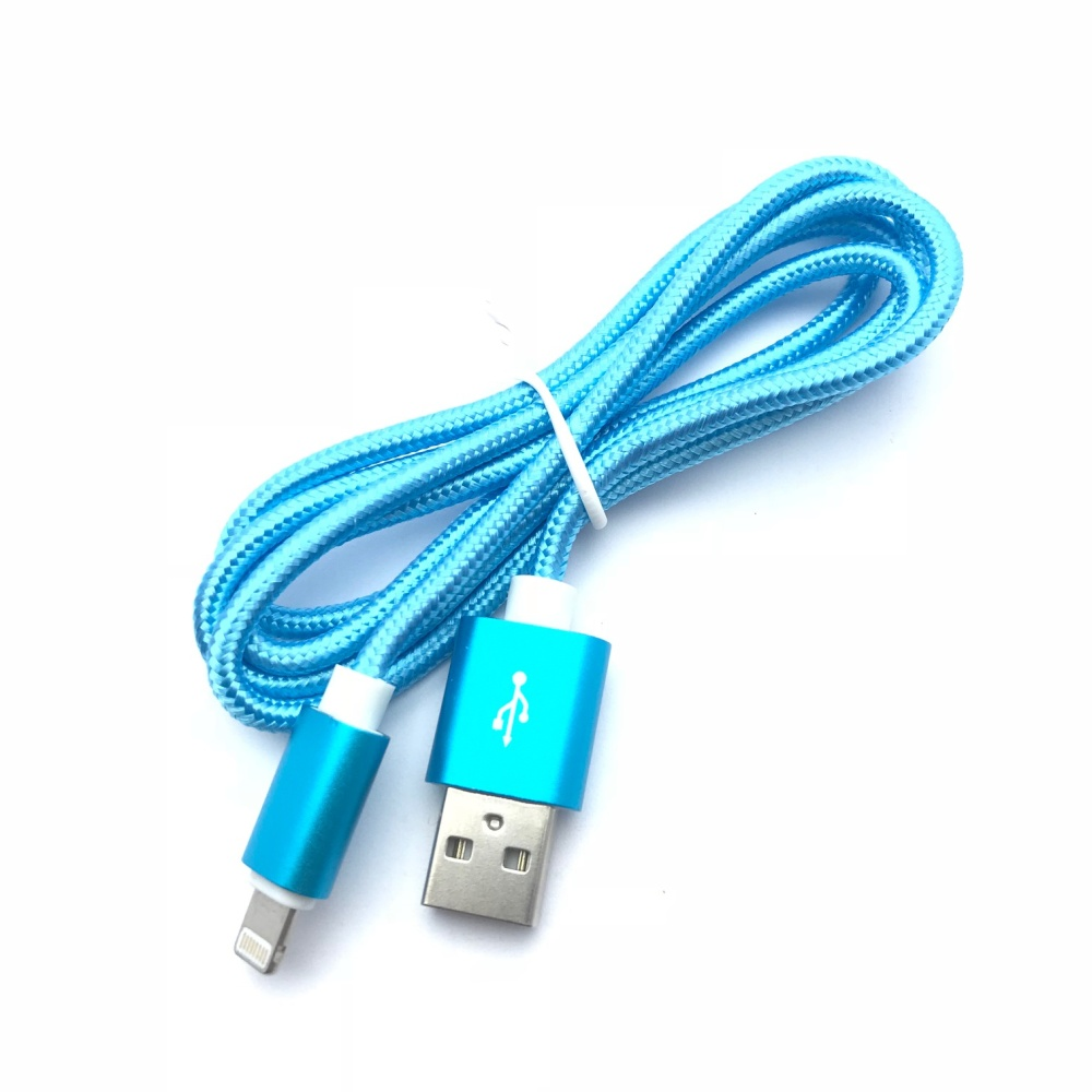 USB kabel pro IPhone Blue 1m